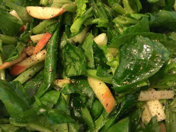 Apfel-Spinat-Salat-letsmakeittasty