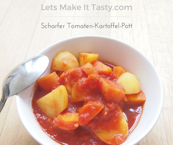 Scharfer Tomaten-Kartoffel-Pott