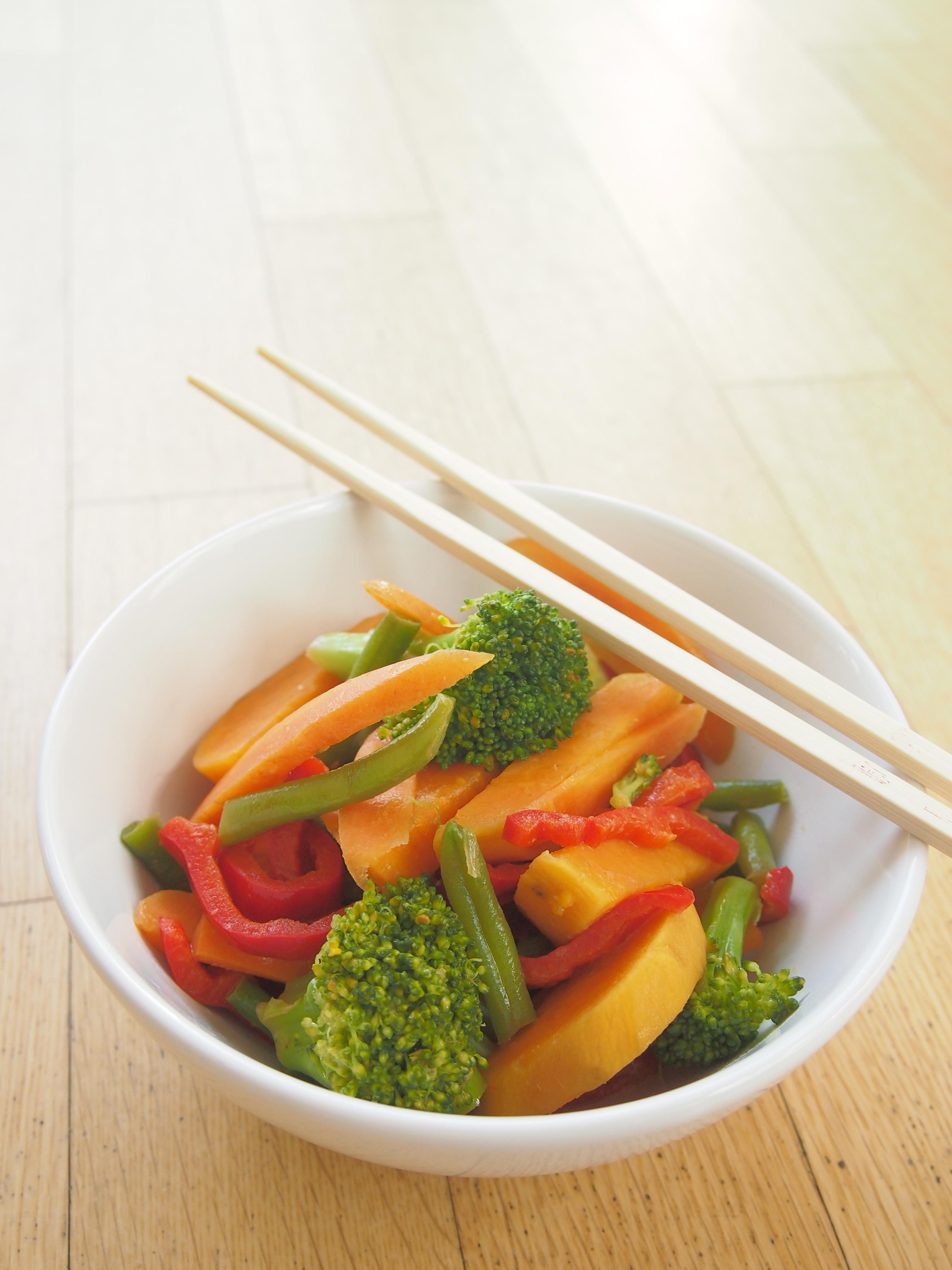 Gemüsecurry mit Süßkartoffel